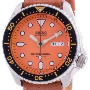 Seiko Automatic Diver&#39,s SKX011J1-var-LS21 200M Japan Made Miesten kello