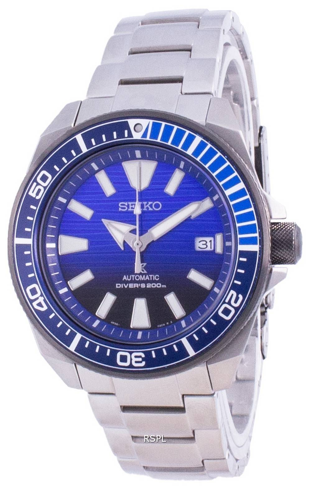 Seiko Prospex Save The Ocean Special Edition automaattinen SRPC93K SRPC93K1 SRPC93K 200M miesten kello