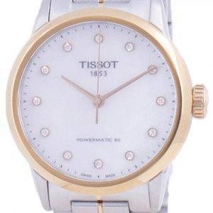 Tissot Luxury Lady Powermatic 80 Diamond aksentti automaattinen T086.207.22.116.00 T0862072211600 naisten kello
