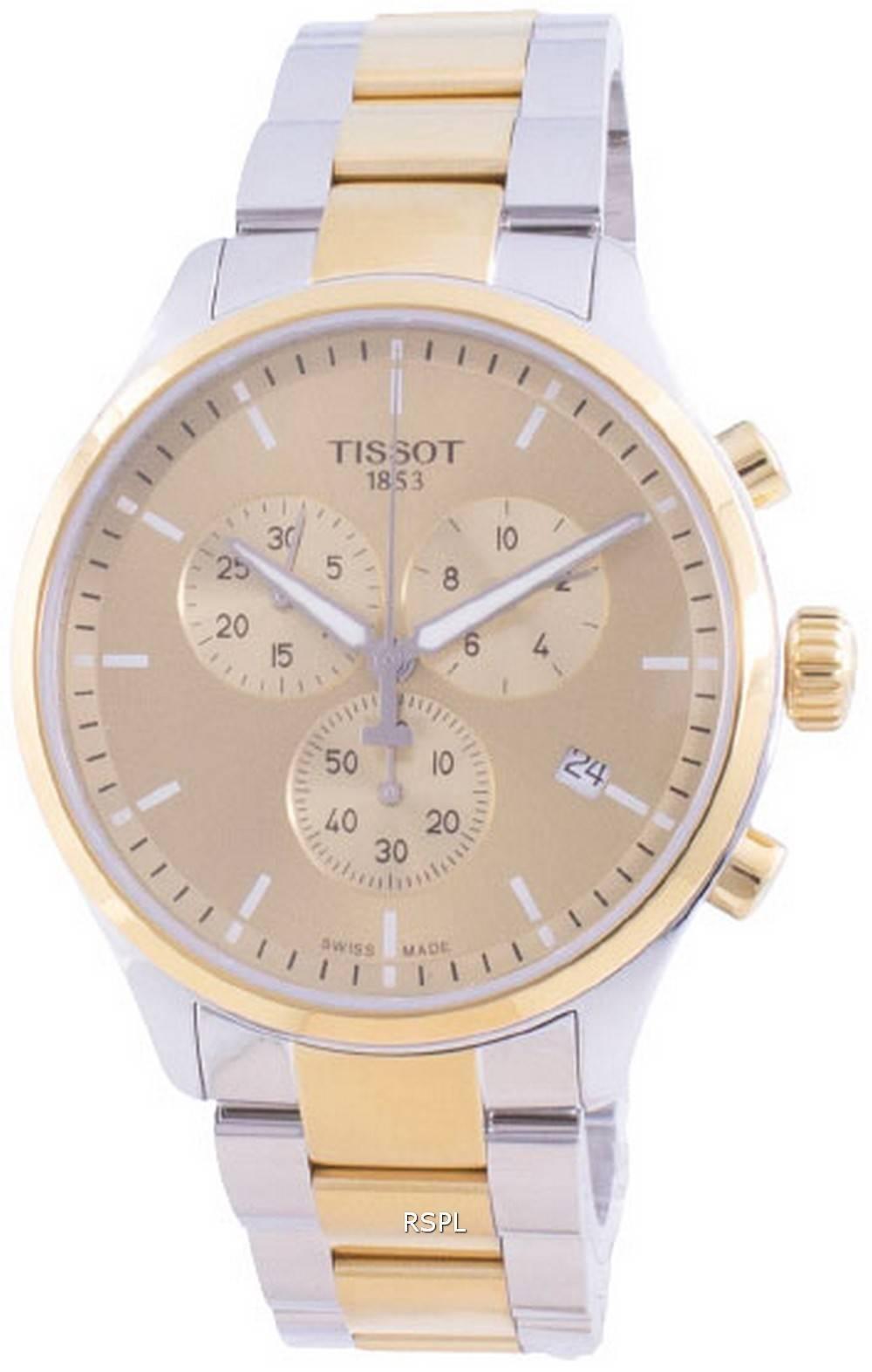 Tissot T-Sport Chrono XL Classic Quartz T116.617.22.021.00 T1166172202100 100M miesten kello