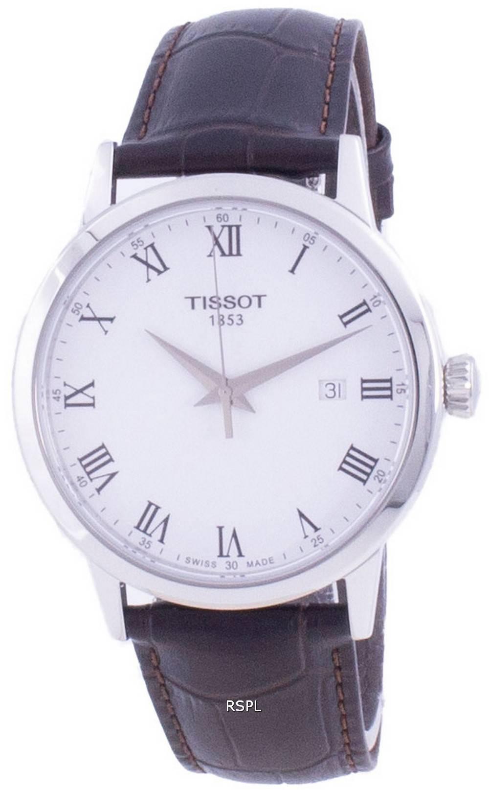 Tissot Classic Dream Quartz T129.410.16.013.00 T1294101601300 miesten kello