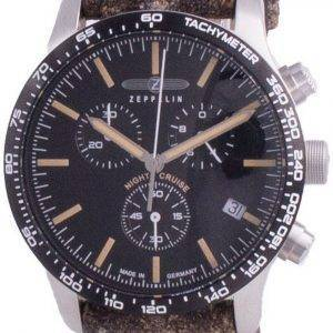 Zeppelin Night Cruise Chronograph Quartz 7296-2 72962 100M miesten kello