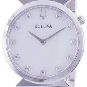 Bulova Classic Diamond aksentti kvartsi 96P216 naisten kello