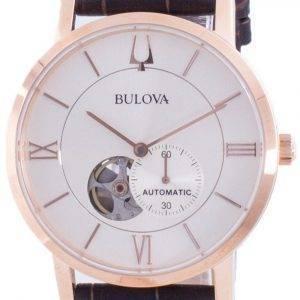 Bulova American Clipper Silver Dial Automatic 97A150 miesten kello