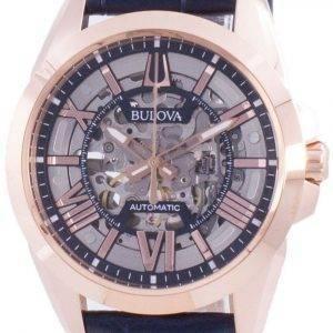 Bulova Sutton automaattinen luurankokello 97A161 100M miesten kello
