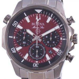 Bulova Marine Star Chronograph Quartz 98B350 100M miesten kello