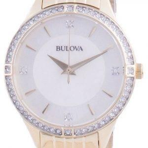 Bulova Diamond aksentti kvartsi 98L274 naisten kello