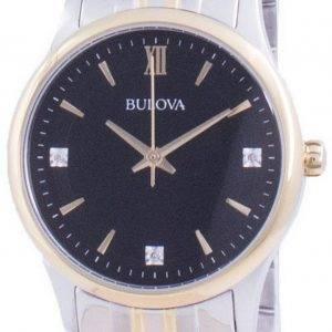 Bulova Diamond aksentti kvartsi 98P196 naisten kello
