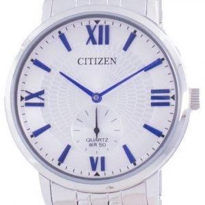Citizen Quartz Silver Dial BE9170-72A miesten kello