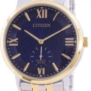 Citizen Blue Dial ruostumattomasta teräksestä valmistettu kvartsi BE9176-76L miesten kello