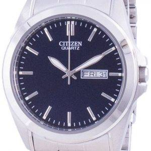 Citizen Blue Dial ruostumattomasta teräksestä valmistettu kvartsi BF0580-57L miesten kello