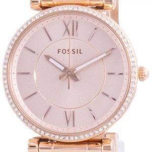 Fossil Carlie Diamond aksentti kvartsi ES4301 naisten kello