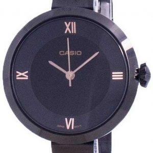 Casio analoginen musta soittaa LTP-E154B-1A LTPE154B-1A naisten kello