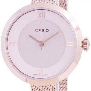 Casio analoginen vaaleanpunainen soittaa LTP-E154MPG-4A LTPE154MPG-4A naisten kello