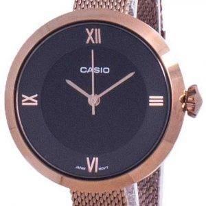 Casio analoginen musta soittaa LTP-E154MR-1A LTPE154MR-1A naisten kello