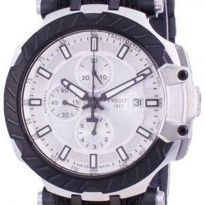 Tissot T-Race Chronograph automaattinen T115.427.27.031.00 T1154272703100 100M miesten kello