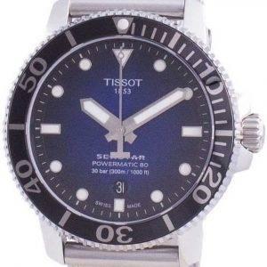 Tissot Seastar 1000 Powermatic 80 automaattinen sukeltajan T120.407.11.041.02 T1204071104102 300M miesten kello