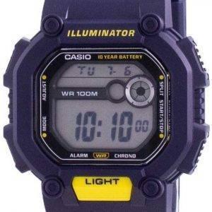 Casio Youth Illuminator Digital W-737H-2A W737H-2A 100M miesten kello