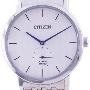 Citizen sølv urskive rustfrit stål kvarts BE9170-56A herreur