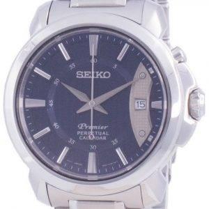 Seiko Premier Perpetual Calendar Quartz SNQ157 SNQ157P1 SNQ157P 100M Herreur