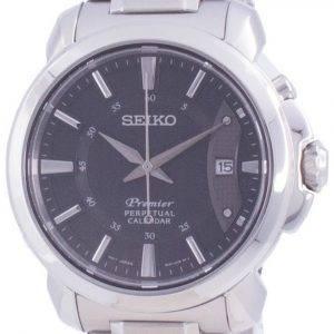 Seiko Premier Perpetual Calendar Quartz SNQ159 SNQ159P1 SNQ159P 100M Herreur