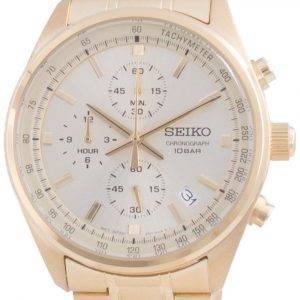 Seiko Chronograph Quartz SSB382 SSB382P1 SSB382P 100M Herreur