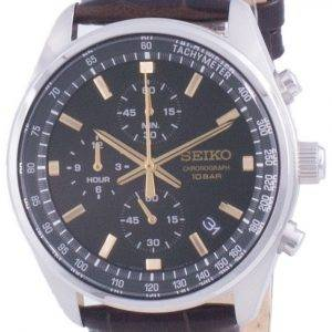 Seiko Chronograph Quartz SSB385 SSB385P1 SSB385P 100M Herreur