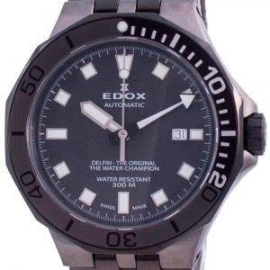 Edox Delfin The Original Automatic Diver's 80110357GNMGIN 80110 357GNM GIN 300M Men's Watch