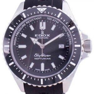Edox Skydiver Neptunian Date Automatic Diver's 801203NCANIN 80120 3NCA NIN 1000M Men's Watch