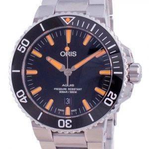 Oris Aquis Date Automatic Diver 01-733-7730-4159-07-8-24-05PEB 300M Herrenuhr