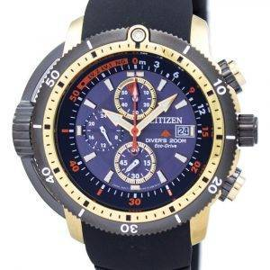 Citizen Promaster Aqualand Diver Eco-Drive Chronograph BJ2124-14E Herrenuhr