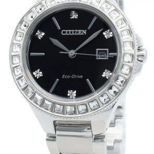 Citizen Silhouette FE1190-53E Diamond Accents Eco-Drive Damenuhr