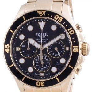 Fossil FB-03 Chronograph Edelstahl Quarz FS5727 100M Herrenuhr