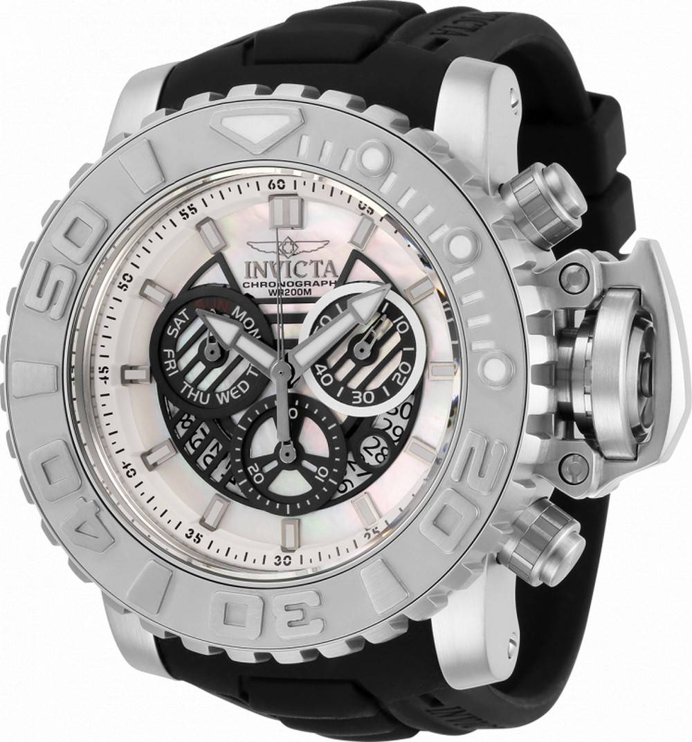 Invicta Sea Hunter Chronograph Taucherquarz 32636 200M Herrenuhr