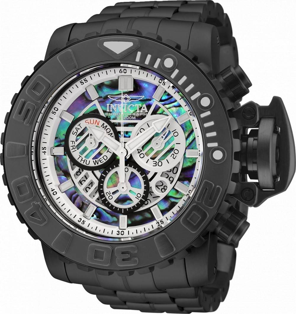 Invicta Sea Hunter Chronograph Taucherquarz 32650 200M Herrenuhr