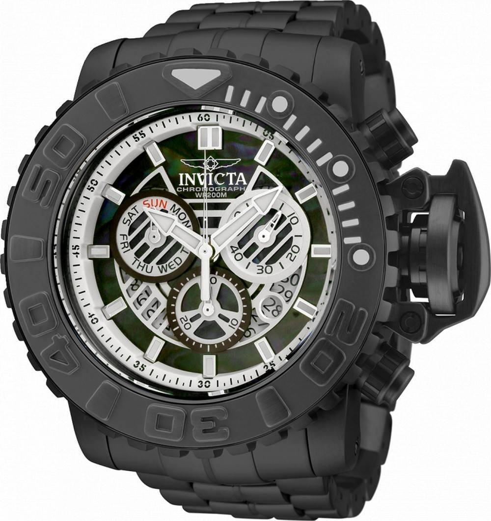 Invicta Sea Hunter Chronograph Taucherquarz 32651 200M Herrenuhr