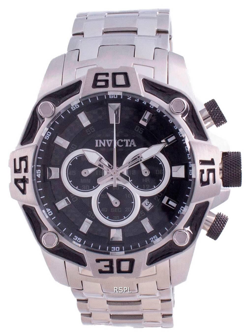 Invicta Pro Diver Chronograph Quarz 33844 100M Herrenuhr