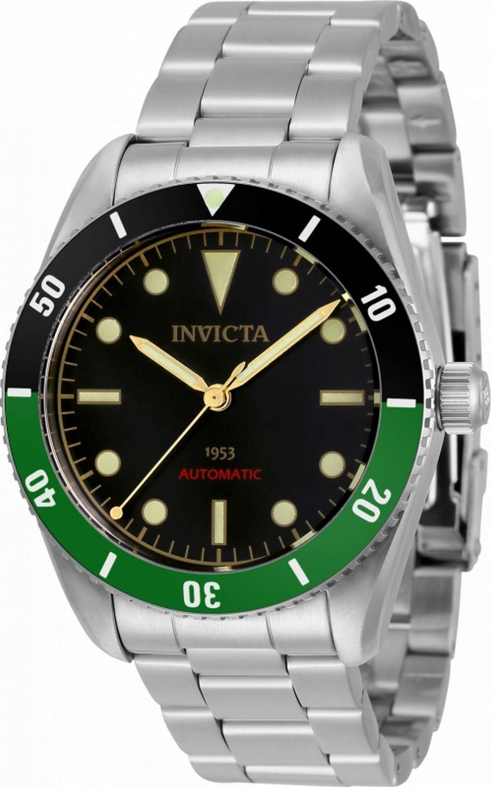 Invicta Vintage Pro Diver Automatische Taucher 34335 200M Herrenuhr