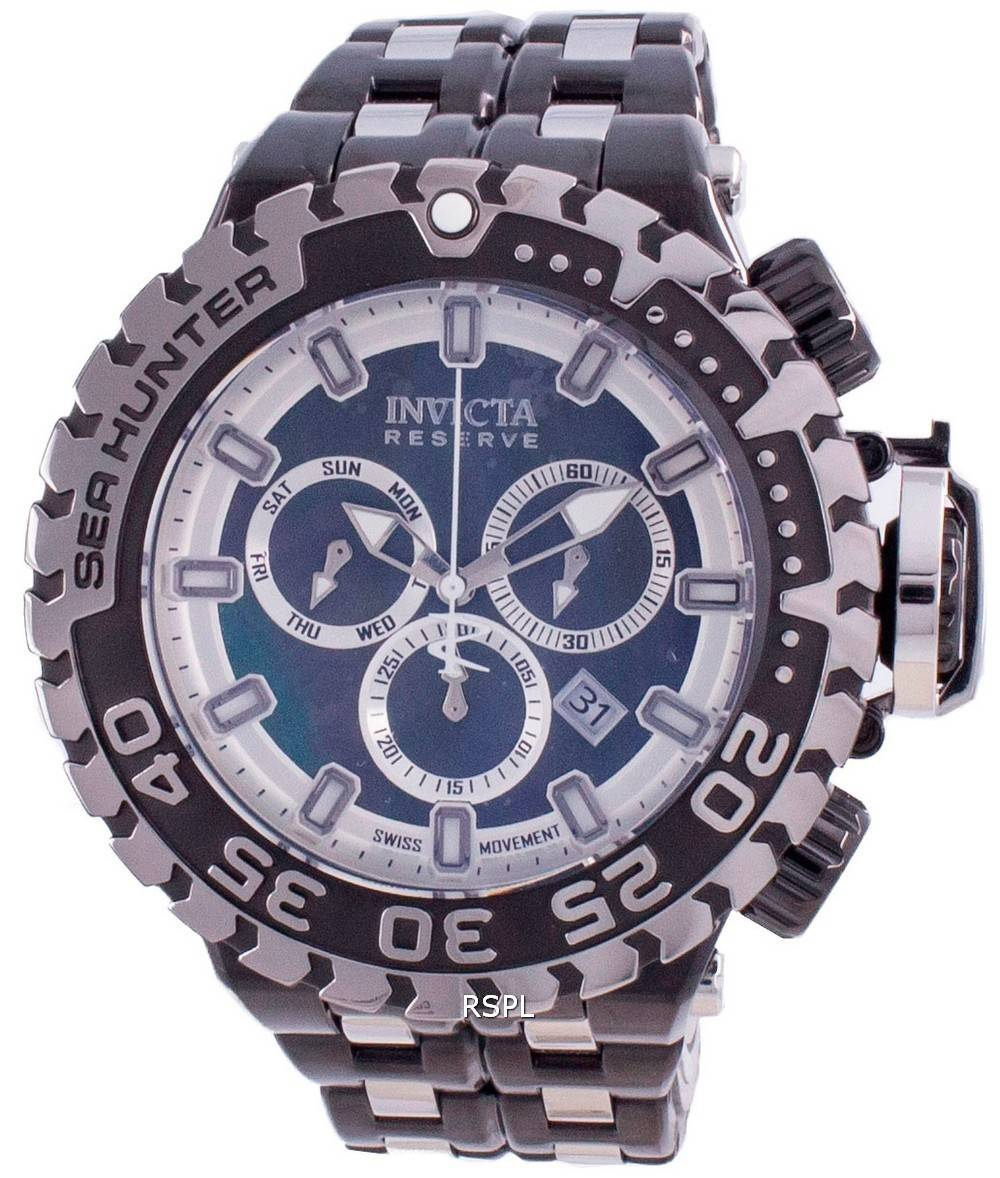 Invicta Sea Hunter Chronograph Quarz Taucher 34596 500M Herrenuhr