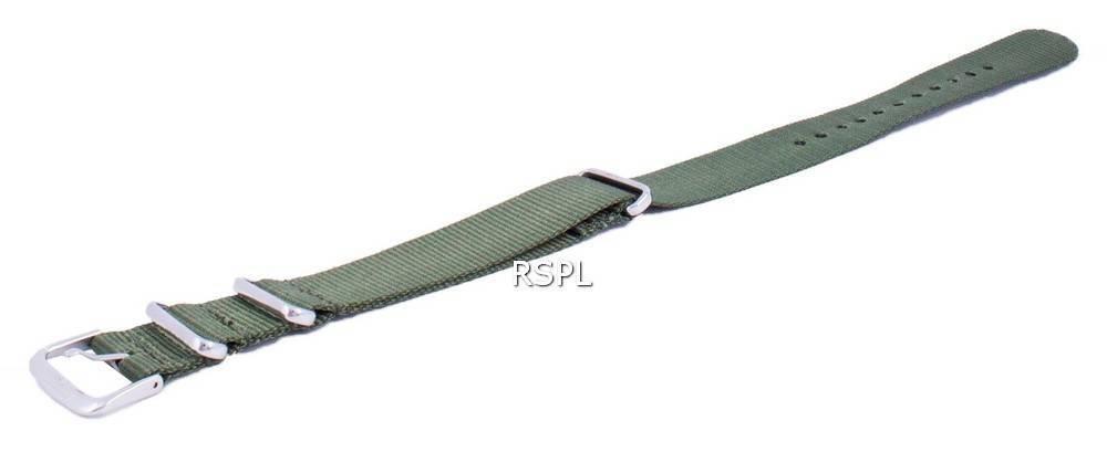 Verhältnis Marke NATOS12 Grünes Nylonband 18mm