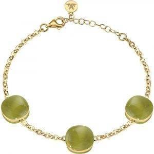 Morellato Gemma Gold Tone Sterling Silber SAKK63 Damenarmband