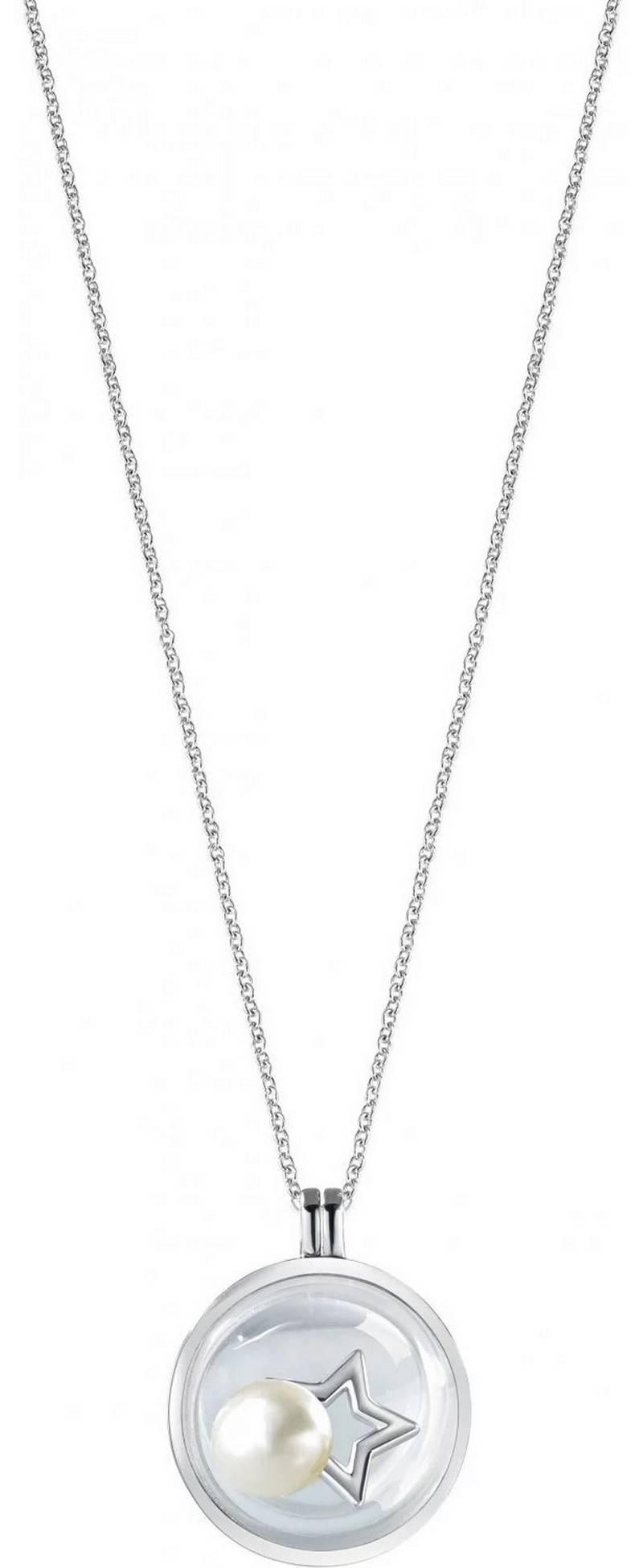 Morellato Scrigno D&#39,Amore Rhodinierte Sterling Silber SAMB01 Damen Halskette
