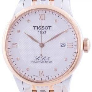 Tissot Le Locle Powermatic 80 Automatik T006.407.22.036.00 T0064072203600 Herrenuhr