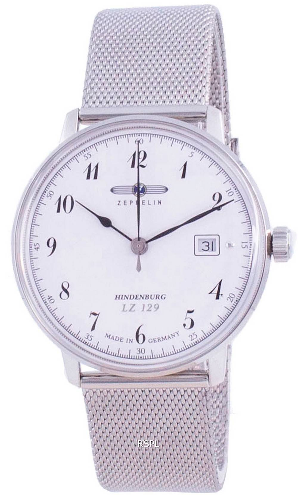 Zeppelin LZ 129 Hindenburg Quartz 7046M-1 7046M1 Herrenuhr