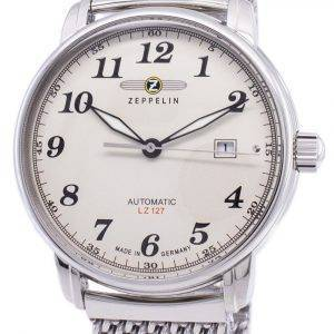 Zeppelin Serie LZ127 Graf Germany Made 7656M-5 7656M5 Herrenuhr
