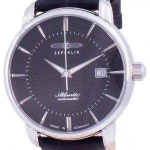 Zeppelin Atlantic Black Dial Automatik 8452-2 84522 Herrenuhr