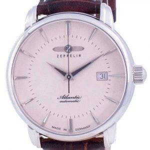 Zeppelin Atlantic Beige Zifferblatt Automatik 8452-5 84525 Herrenuhr