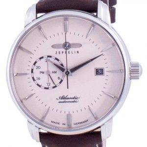 Zeppelin Atlantic Beige Zifferblatt Automatik 8470-5 84705 Herrenuhr