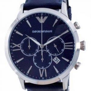 Emporio Armani Giovanni Chronograph Blue Dial Quartz AR11226 miesten kello