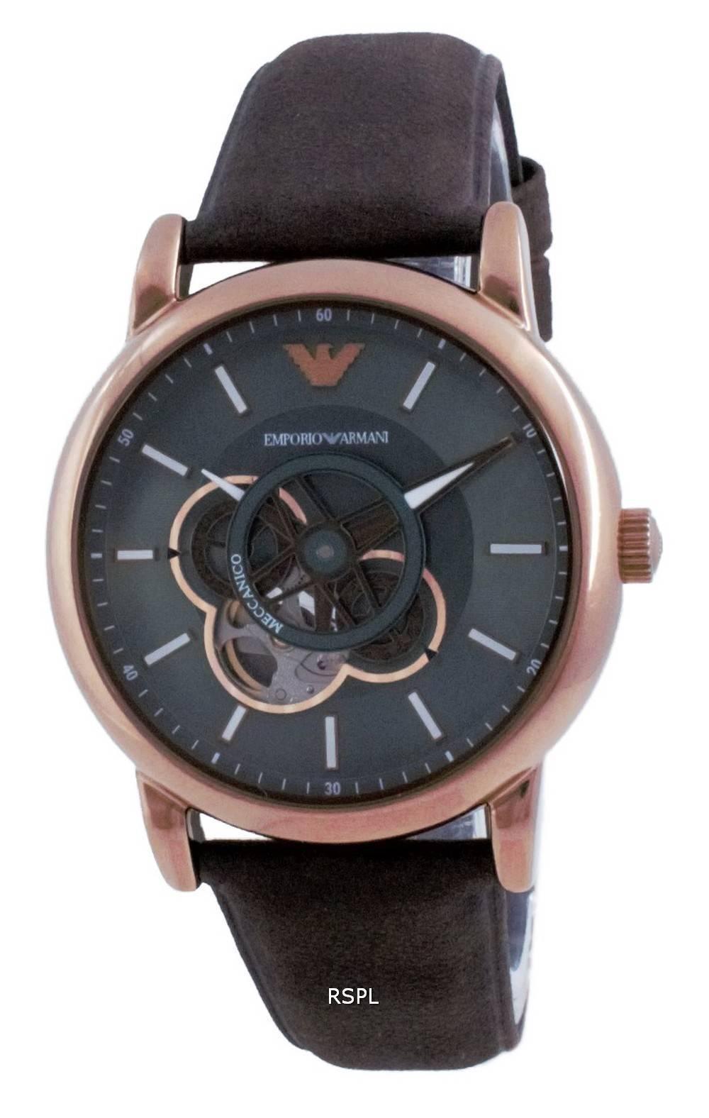 Emporio Armani Luigi avoimen sydämen automaattinen AR60033 miesten kello